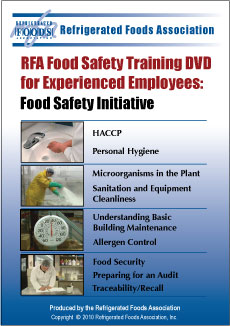2010 rfa food safety training dvd for experienced employees